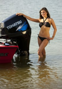 Tohatsu 90 hp engine